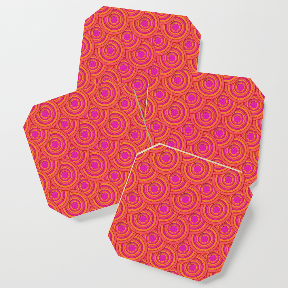 Tropical Parasols Pattern Coasters by petergross (S6C3164302) photo