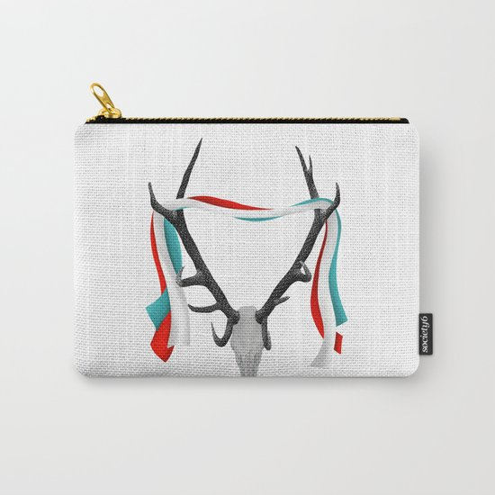 Stag Antlers Carry-All Pouch