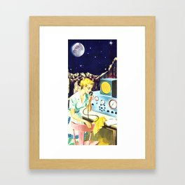 housewives in space Framed Art Print