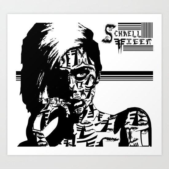 Schnell Tiger C Art Print