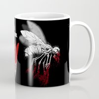 politics Mugs featuring INSECT POLITICS by BeastWreck