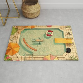 Pool Thoughts Rug
