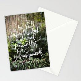 Be Still  //  Psalm 37:7 Stationery Cards