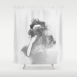 The imaginary parts of my mind. Shower Curtain