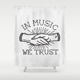 Rock Music Shower Curtains