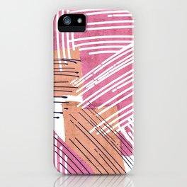 Big Sketch Collage iPhone Case