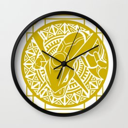 Stained Glass - Pokémon - Rayquaza Wall Clock