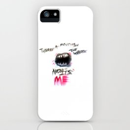 Monster iPhone Case