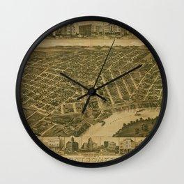 Montgomery 1887 Wall Clock