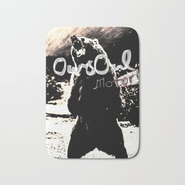 Oursoul motors grizzly Bath Mat
