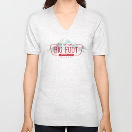 Big Foot Search Team Unisex V-Neck