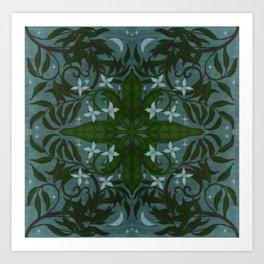MoonWillow Tile Art Print