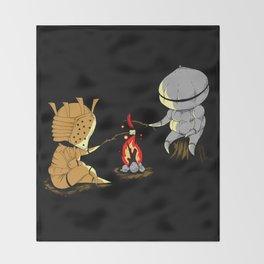 Bonfire Buddies Throw Blanket