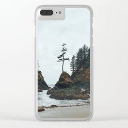 Dead Man's Cove Clear iPhone Case