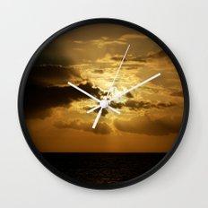 Ocean Sunset Wall Clock