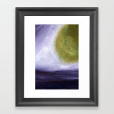 Abstract Space Framed Art Print