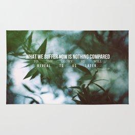 Romans 8:18 Rug