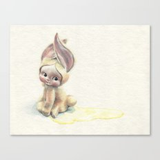 Baby-Pee-a-Little Canvas Print