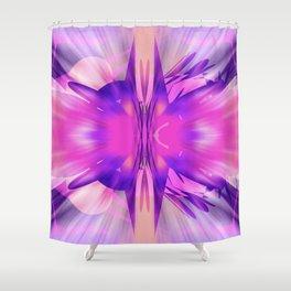 Hannah Loves Pink Shower Curtain