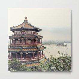 Summer Palace, Beijing China Metal Print