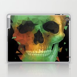 Geometry Reconstruction Skull Laptop & iPad Skin