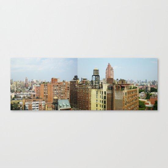 NY_NE Canvas Print