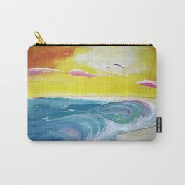 Beachy Shore Carry-All Pouch