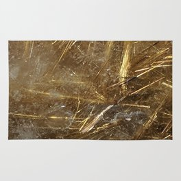 Golden Rutile Rug