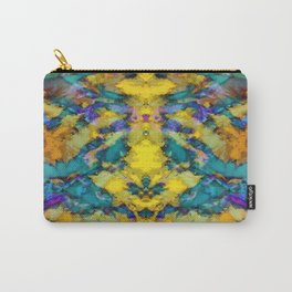 Interlocking ghosts yellow Carry-All Pouch