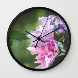 Summer tones Wall Clock
