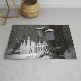 Sugaring 1 - Maple Syrup Rug