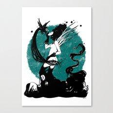 Sin Titulo Canvas Print