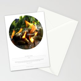 The Trickle Down (This Burning World 4) Stationery Cards