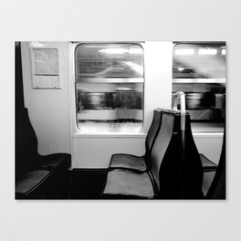 Another Train  Canvas Print