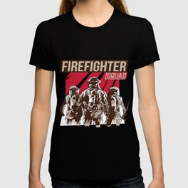 Firefighter Squad T-shirt
