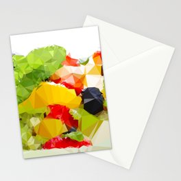 Fruit pattern Stationery Cards