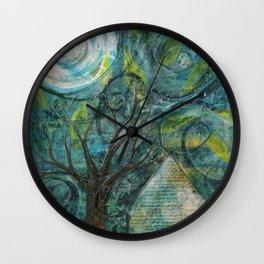Stormy night Wall Clock