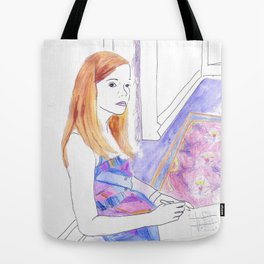Elle Fanning, Somewhere Tote Bag