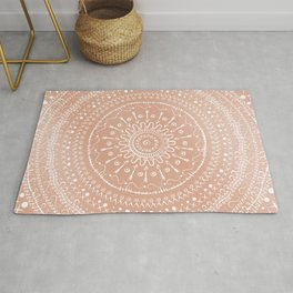 Geometric tribal mandala Rug