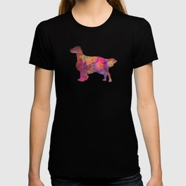 English Setter in watercolor T-shirt