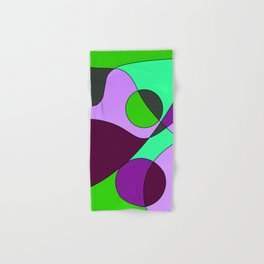 Abstract pattern Cuts Hand & Bath Towel