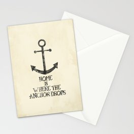 Where The Anchor Drops Stationery Cards