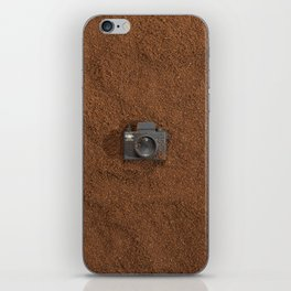 Ground Coffee & Tiny Tiny Camera iPhone Skin