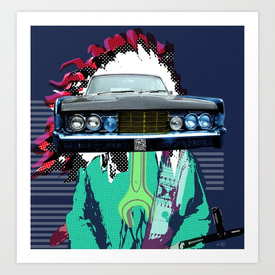 Indian Pop 78 Art Print