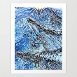 Valhalla Art Print