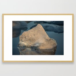 Ice Ice Iceland Framed Art Print