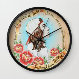 *Remastered* Vocalist Series-Vic Fuentes of Pierce The Veil Wall Clock