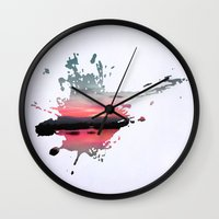 storm Wall Clocks featuring Storm by Last Call
