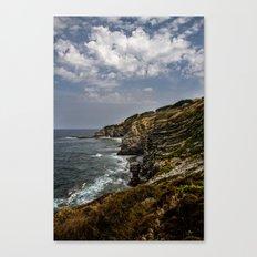 Where ocean meets land Canvas Print