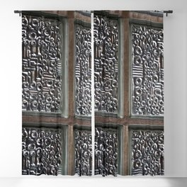 glass brick Blackout Curtain